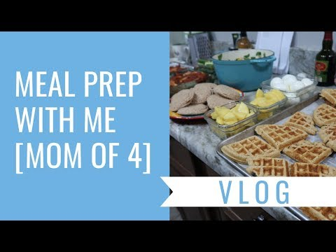 Meal Prep with Me  One Hour  Mom of 4