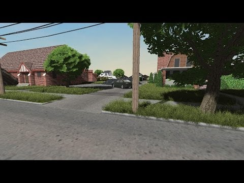 GAME MAKER: STUDIO 3D - RESIDENTIAL MAP TEST