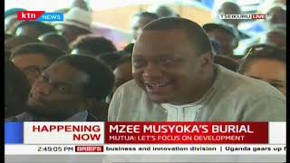 Musalia Mudavadi speaks on public debt during late Peter Musyoka\'s Burial ceremony