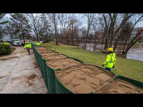 Red Cedar Flooding Feb. 19-23, 2018