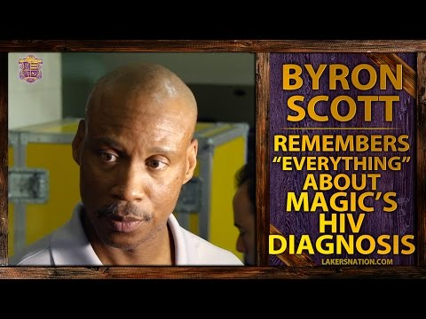 """Lakers Head Coach Byron Scott Remembers """"Everything"""" About Magic's HIV Diagnosis"""