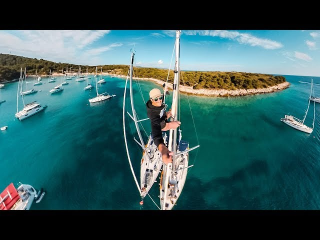 Sailing Croatia || GoPro hero 7 black