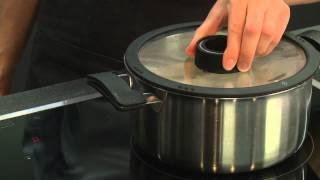 Kartoffel-Safransuppe