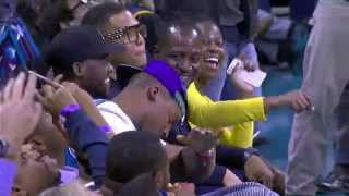 LeBron's Slam Makes Cam Dance