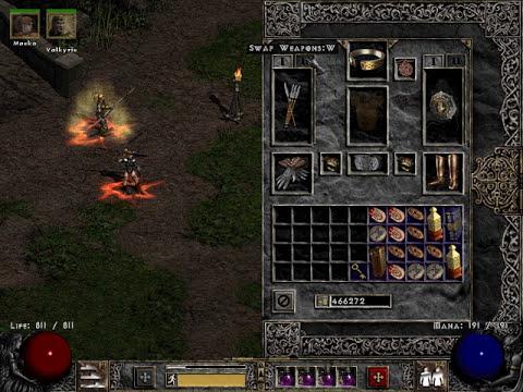 Diablo 2 Hardcore Amazon Hellrack Build 2016 - YouTube