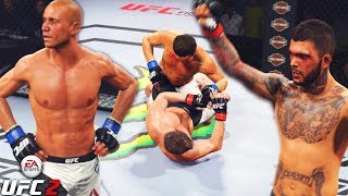Everyone Giving Out Work! Dong Hyun Kim Goes To WAR! EA Sports UFC 2 Online Fights!