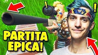 IL TRUCCO PER VINCERE CONTRO I PRO PLAYER COME NINJA!! — Fortnite ITA