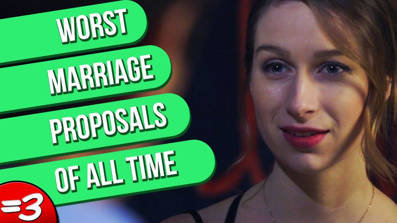 Worst Marriage Proposals Of All Time YouTube - 18 worst proposals ever