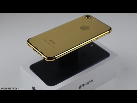 Building a Stunning Gold Plated iPhone 7