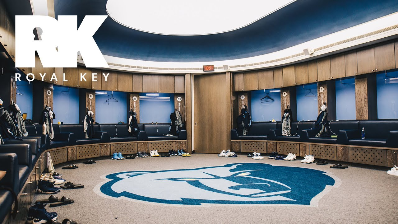 sneakers for cheap 0b7e0 e66fc We Toured the Memphis Grizzlies' Sneaker-Filled Facility | Royal Key