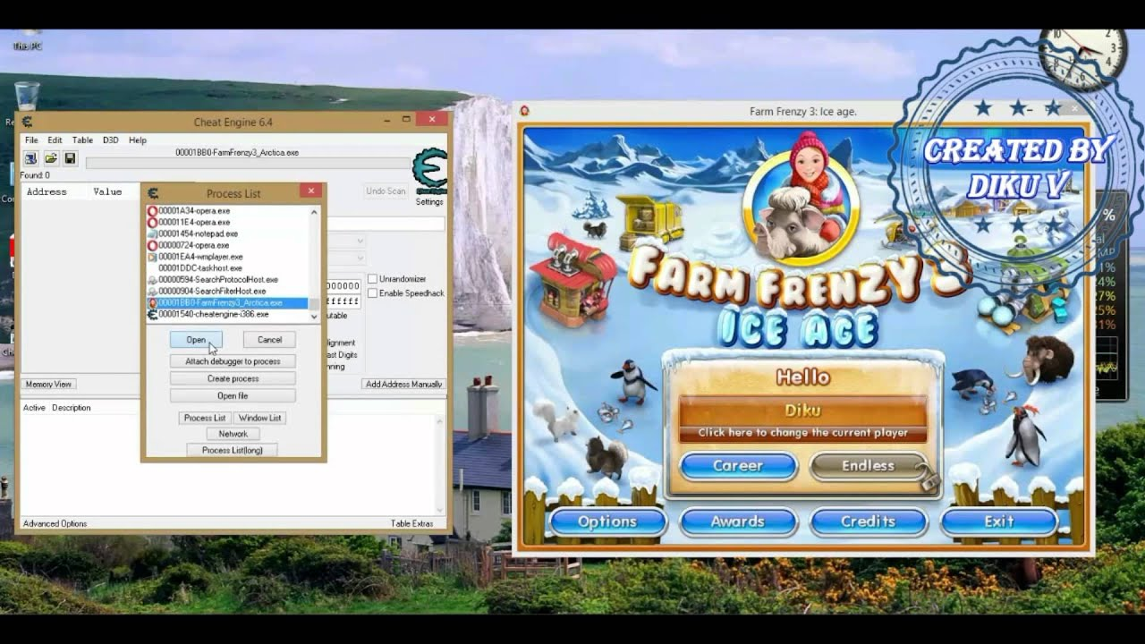 play farm frenzy 3 ice age hacked