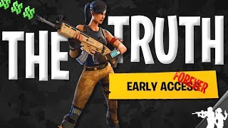 Why Fortnite Will NEVER Leave Early Access (cheating the system)