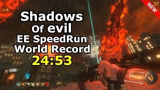 Shadows Of Evil Solo Easter Egg Speedrun World Record 2453