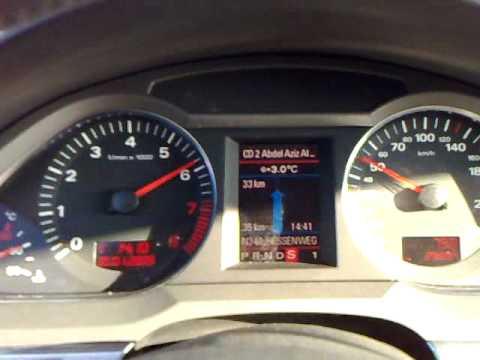 Audi A6 2.4 - 2006 - acceleration - YouTube