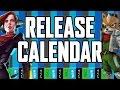 Release Calendar - April 18-24, 2016