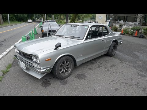 "Nissan Skyline GT-R KPGC-10 ""Hakosuka"" na celý den | Chose v Japonsku S02E03"
