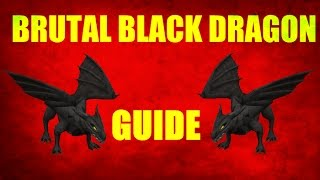 Brutal Black Dragon Slayer Guide 2007 Location / Loots Old School Runescape (OSRS)