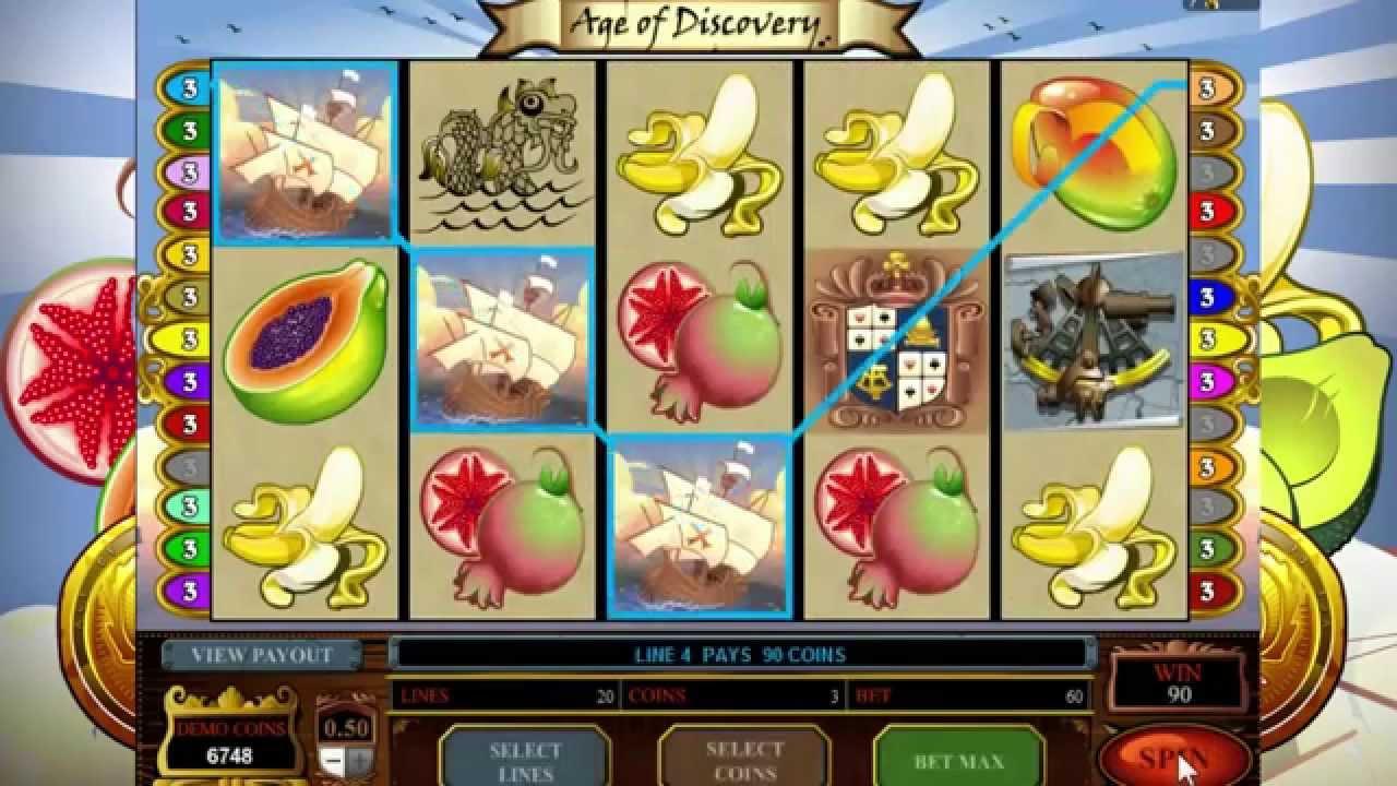 Age of discovery slot machine delai reponse pret banque casino