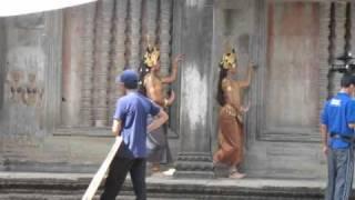 danza Apsara, Apsara dance Angkor Wat