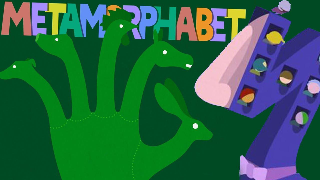 Alphabet on Drugs - Metamorphabet Gameplay - YouTube