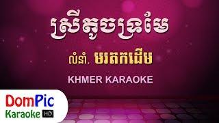 ស្រីតូចទ្រមែ ឆ្លងឆ្លើយ ភ្លេងសុទ្ធ - Srey Toch Tro Mae Pleng Sot - DomPic Karaoke