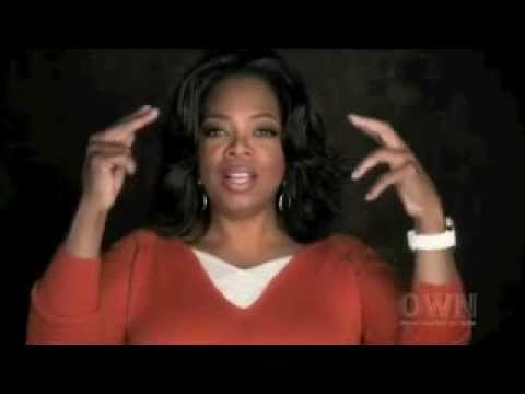 Inspiring words from Oprah Winfrey