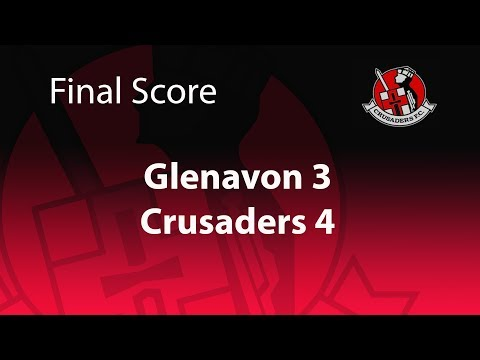 Glenavon 3-4 Crusaders 16/12/17