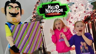 Hello Neighbor Steals Our Christmas Presents! Missing Toys Scavenger Hunt!!!