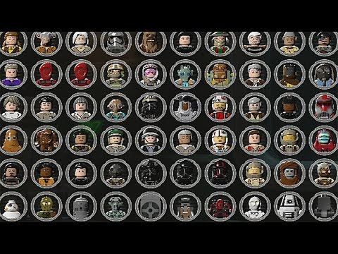 LEGO Star Wars The Force Awakens - Unlocking Characters