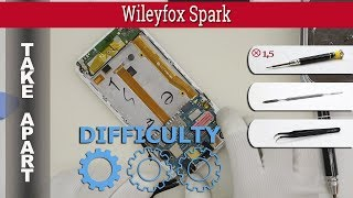 How to disassemble 📱 Wileyfox Spark Take apart Tutorial