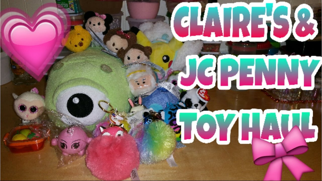 Squishy Hunting : SQUISHY HUNTING AT THE MALL~ JC PENNY AND CLAIRE S~ - YouTube