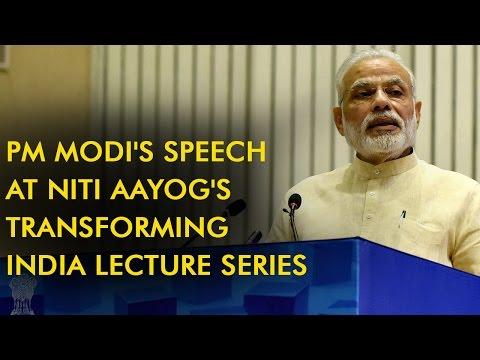 Singapore's Deputy Prime Minister addresses NITI Ayog's Transforming India program