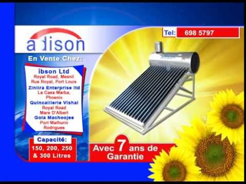 Adison Solar Tv Advert Aug 2015