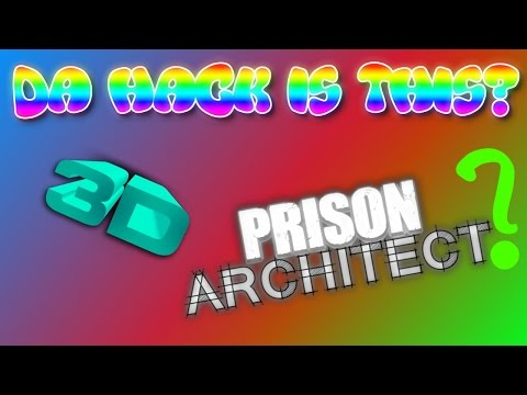 3D PRISON ARCHITECT EASTER EGG? | Feierfox