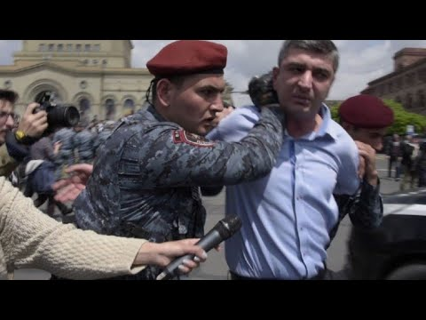 AFP news agency: Further arrests as Armenia protests continue