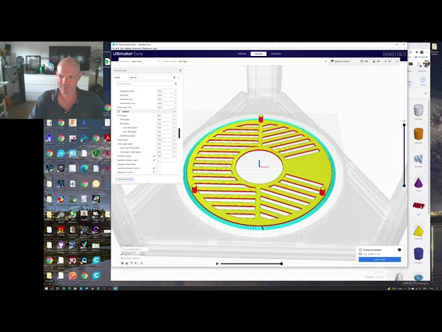 Creating Edge11 2800mm Bahtinov Mask with AstroJargon Mask Generator, 3DPrinting and testing.