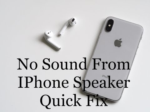 Quick fix: No sound from iPhone speaker