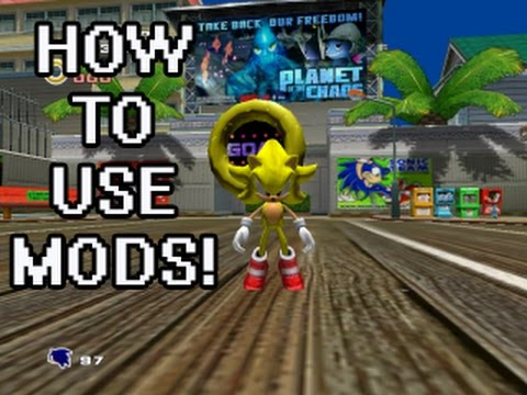 How to use mods on Sonic Adventure 2!!