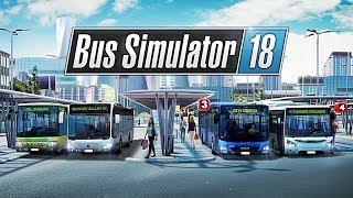 ПЕРВЫЙ РЕЙС В НОРМАЛЬНОМ СИМУЛЯТОРЕ - Bus Simulator 18 [#1]