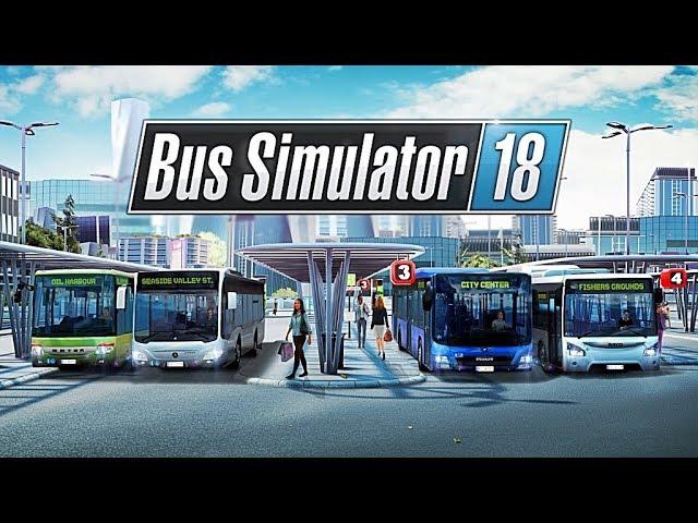 Bus Simulator 18 (видео)
