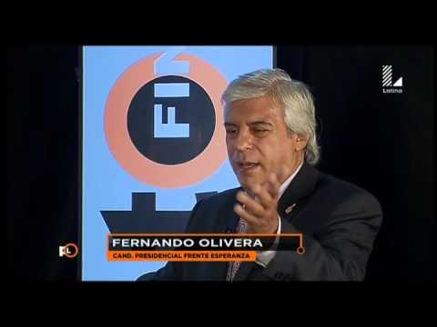 Fernando Olivera: Esto dijo tras su explosivo debate con Alan García
