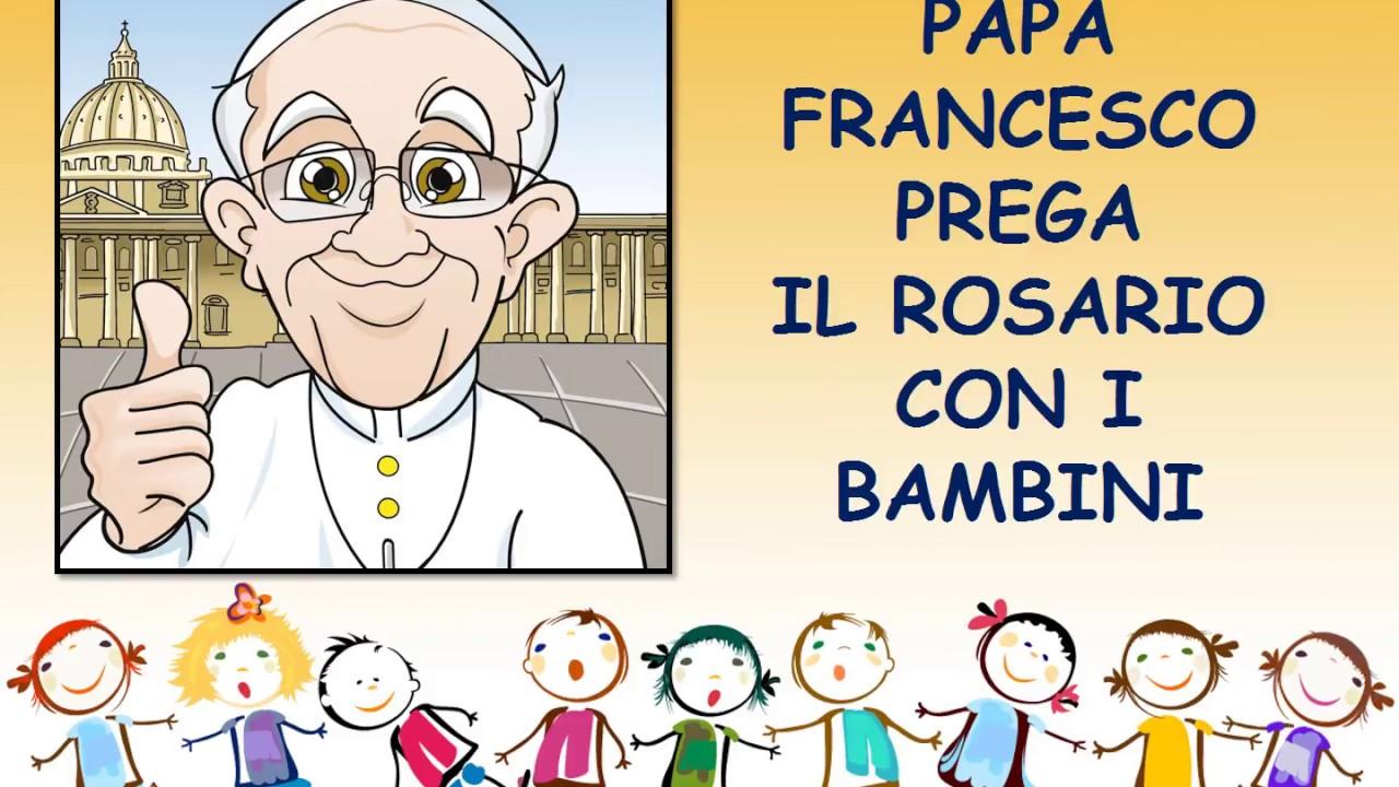 Rosario per bambini con papa francesco misteri della for Altalena con scivolo per bambini