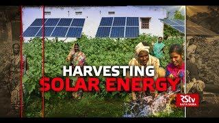 Ground Report - Harvesting Solar Energy