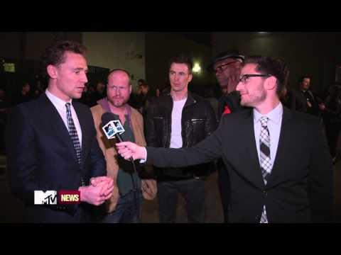 MTV Movie Awards 2013 Tom Hiddleston Backstage interview (Best Villain)