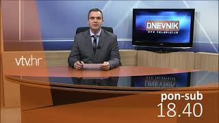 VTV Dnevnik najava 13. listopada 2018.