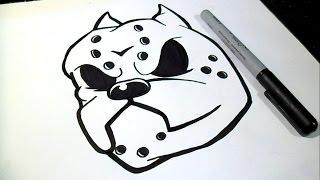 как рисовать Питбуль собака |  Граффити(Рисование Питбуль собака Граффити музыка (Audiomicro.com), 2014-10-15T05:36:37.000Z)