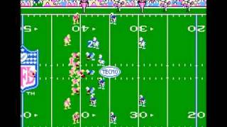 Tecmo Super Bowl - 49ers win 116 - 0 over the Colts