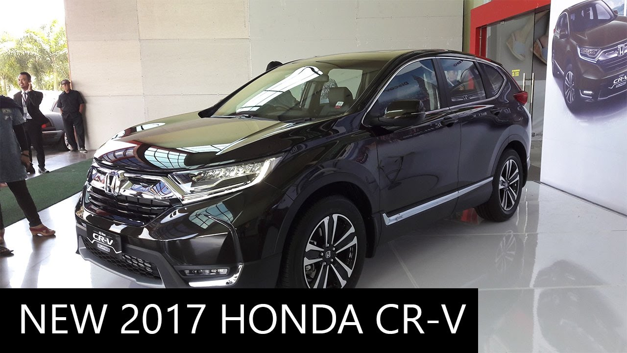 new 2017 honda cr v exterior and interior walkaround youtube. Black Bedroom Furniture Sets. Home Design Ideas