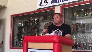 Baseball coach reviews Orion seniors