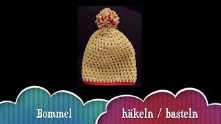 Bommel / Pompom für die Mütze selber machen